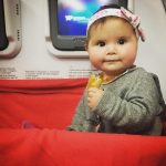 Tips for traveling with a baby...